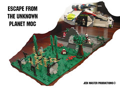 LEGO STAR WARS Escape form the Unknown Planet MOC (Jedi Master Productions) Tags: trooper david game industry star stand video escape force yoda lego live luke ground battle lucas doctor programming darth clones empire jedi planet unknown form lightsaber wars vader clone common zero guild sith episode droid skywalker moc unleashed thebakuganjedimaster