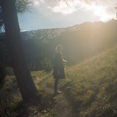 sun kiss (scott w. h. young) Tags: sun love 120 film kiss yellowstonenationalpark yashica