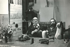 "<br /><span style=""font-size:0.8em;"">LEOPOLDO NOVOA CON JUAN CARLOS ONETTI EN EL TALLER DE PARIS 1978</span> • <a style=""font-size:0.8em;"" href=""http://www.flickr.com/photos/114402629@N08/13384505674/"" target=""_blank"">View on Flickr</a>"