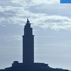 140415 190916.R (easaphoto) Tags: bw faro torre monumento romano galicia