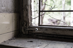 20140503 (mkniebes) Tags: old urban abandoned window dof bokeh dirt tiles dust lever planart1450 zf2