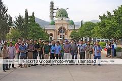 Flickr10 Global Photo-walk. (Suh@il) Tags: pakistan photowalk groupphoto islamabad suhail ppa bariimam suhailakhtar flickr10photowalk