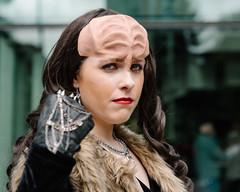 Klingon (Mark D Coleman) Tags: startrek cosplay klingon eccc emeraldcitycomiccon eccc2016
