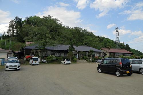 旧上岡小学校 校庭