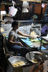 Making Empanada (alingtori) Tags: philippines worldheritagesite vigan empanada ilocossur culinaryheritage