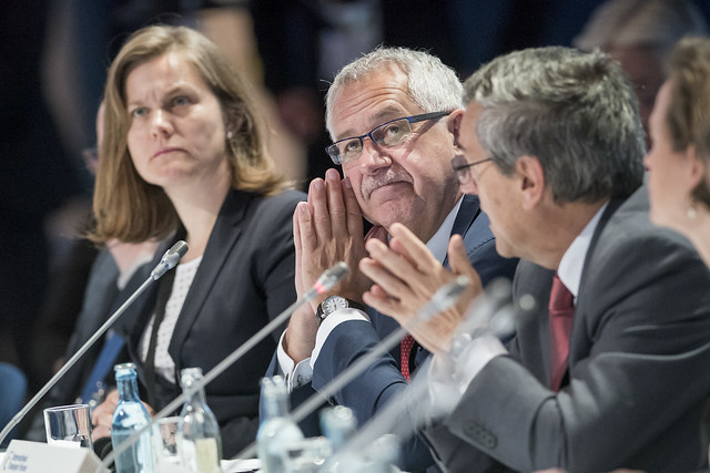 Hans Christian Schmidt at the Closed Ministerial Session
