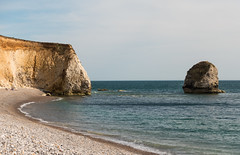 Freshwater Bay (Andy Latt) Tags: sea rock bay coast sony stack shore isleofwight freshwater freshwaterbay andylatt rx100m3 dsc01402r