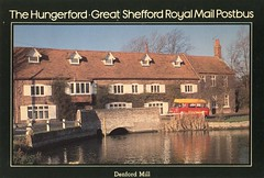 The Hungerford to Great Shefford Royal Mail Postbus . (AndrewHA's) Tags: bus post mail royal pb hungerford maidstone minibus commer rootes greatshefford