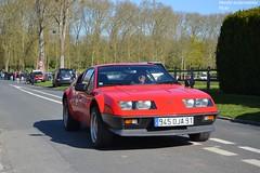 Alpine A310 (Monde-Auto) Tags: auto france rouge automobile tour course renault alpine coup a310 courances comptition
