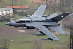 RAF Tornado GR4, Thirlmere, 14/4/2016 (TheSpur8) Tags: uk aircraft military transport jet lakedistrict places date tornado lowlevel 2016 landlocked gr4 smaithwaite skarbinski anationality