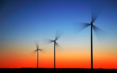 Wind turbines in sunset.   [Explored] 2016-06-10 (bobban25) Tags: sky night canon eos is wind sweden outdoor sverige stm scandinavia turbines windturbines stergtland f3556 70d nightfoto vsterlsa efs18135mm canoneos70d canon70d canonefs18135