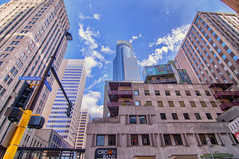 Summer Day On Marquette Ave (jrcrespinphoto) Tags: minnesota architecture buildings landscape cityscape minneapolis twincities marquette downtownminneapolis marquetteavenue