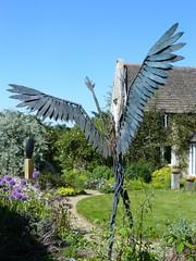 Wing Sculpture Garden Rutland 2009 (@oakhamuk) Tags: art wing rutland sculpturegarden 2009 martinbrookes