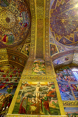 Frescoes in the interior (T   J ) Tags: nikon iran d750 yazd teeje nikon2470mmf28