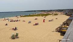 Craigville Beach Afternoon 2 (mblakephoto) Tags: ocean summer people beach water fun outdoors sand chairs capecod massachusetts cba iphone craigvillebeach craigvillebeachassociation