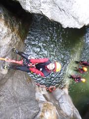 P1120386 (Mountain Sports Alpinschule) Tags: blue mountain sports lagoon canyoning zillertal zemmschlucht alpinschule