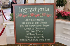 Ingredients in Florida (krisjaus) Tags: disney gingerbreadhouse waltdisneyworld portorleansriverside fortwildernesslodge krisjaus thegrandfloridian richardatthegrandfloridian