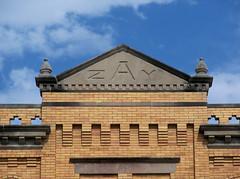 OH Celina - Zay (scottamus) Tags: ohio detail building architecture celina mercercounty zay