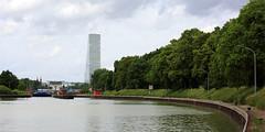 Rhine lock-041 (swissnature3) Tags: river switzerland lock rhine birsfelden