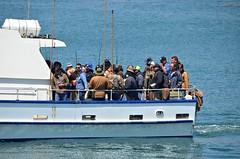 Returning Anglers (Pedestrian Photographer) Tags: california trip bay boat fishing fishermen may avila ribbet anglers 2016 dsc4100 dsc4100b