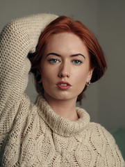 Jenny O (Ian_Boys) Tags: portrait woman girl beautiful redhead