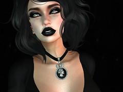 Sneaky Peeky....Dark Cameo Necklace (Vixn Dagger - Vengeful Threads) Tags: original necklace mesh originalart secondlife cameo genre originalmesh artsecondliferegionislerfyresecondlifeparcelhouseofrfyrevengefulthreadssecondlifex29secondlifey100secondlifez3604