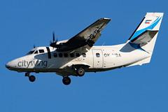 OK-UBA (GH@BHD) Tags: aircraft aviation let airliner turboprop egac bhd let410 l410 turbolet belfastcityairport vanaireurope okuba citywing
