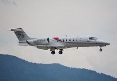 Bombardier Aerospace Corporation Learjet 75 N751LJ. (Austyn Pratt) Tags: plane airplane geneva aircraft aviation flight aeroplane bizjet privatejet corporatejet ebace bombardieraerospacecorporation learjet75 n751lj