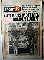 1976 TDF The Summer of Lucien I (Sallanches 1964) Tags: france mountains de tour van lucien impetour france1976belgian winnersking