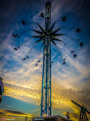 Mobile Phone HDR Hoppings 2016 (SlammDunk) Tags: above aerial drone landscape newcastle newcastleupontyne the hoppings town moor slammdunkpics park hdr epicdroneclips