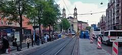 Open werk (Peter ( phonepics only) Eijkman) Tags: city holland netherlands amsterdam transport nederland tram rail rails trams strassenbahn noordholland gvb tramtracks streetcars combino nederlandse