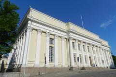 Plaza del Senado Helsinki Biblioteca Nacional de Finlandia 02 (Rafael Gomez - http://micamara.es) Tags: plaza del de helsinki y centro senado biblioteca nacional finlandia