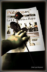 Hasta siempre, Pblico (Jos Luis Moyano) Tags: newspaper pblico press despedida prensa periodismo