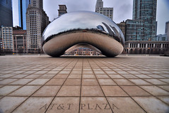 Clean Bean... (Seth Oliver Photographic Art) Tags: chicago reflections landscapes illinois nikon midwest iso400 cityscapes milleniumpark theloop thebean pinoy urbanscapes secondcity windycity chicagoist d90 cloudgatesculpture handheldshot cityofbigshoulders attplaza aperturef45 manualmodeexposure setholiver1 circularpolarizers 1024mmtamronuwalens incamerastrightening 1125secondexposure