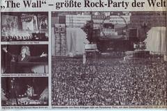 Roger Waters: The Wall, Berlin, Potsdamer Platz  -  21 July 1990 (gudrunfromberlin) Tags: pinkfloyd berlinwall potsdamerplatz thewall rogerwaters mariannefaithfull utelemper andyfairweatherlow grahambroad