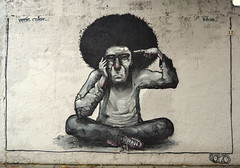 Arte gandiense (Trix: Pierre qui roule .......) Tags: mural arte graffitti urbano msica pintura peluquera paintada