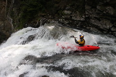 Ben Brown on  the Nuno Bei extreme Kayaking  Japan