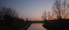 Prato e il bisenzio al tramoto