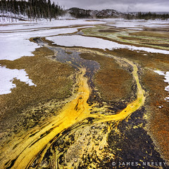Color Flow (James Neeley) Tags: winter landscape handheld yellowstonenationalpark yellowstone wyoming hdr 5xp jamesneeley flickr24 vertorama