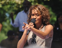 6861850055 b9a4b1426f m Sony Music Under Fire for Raising Price of Whitney Houston Greatest Hits Album Hours After Singer Found Dead