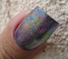 OPAL e GG (38) (Esmalte Manaca) Tags: glitter silver foil nail opal gall