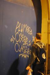 (Islam punk und punk Islam) Tags: street italy graffiti italia action tag graff handstyle clairee plumee ogeer