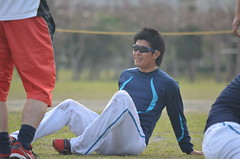 DSC_0106 (mechiko) Tags: 横浜ベイスターズ 120209 渡辺直人 横浜denaベイスターズ 2012春季キャンプ