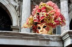 BALCONE (Lace1952) Tags: carnevale venezia balcone maschere nikond3 psmarco nikkor2470f2e8