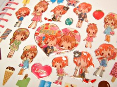 My Sticker Collection - Pt 6 (miki the artist) Tags: cute japanese sticker girly hobby kawaii collecting stickeralbum stickercollection mikitheartist