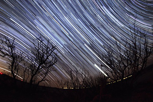 Venus / Jupiter / Startrails in Upham, NM