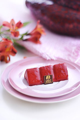 sweetened berries Cake [3/4] (Fahad Al-Robah) Tags: food cake berries candy propaganda          desalinated