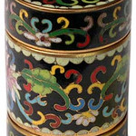 "<b>Three-piece Stacking Round Box</b><br/> Unknown (Chinese) Three-piece Stacking Round Box Cloisonne, n.d. LFAC #1994:12:03 <a href=""http://farm8.static.flickr.com/7194/6916690327_b023eddee1_o.jpg"" title=""High res"">∝</a>"