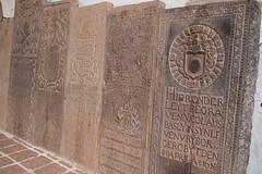 Hier onder leght niet meer begraven... (skittledog) Tags: dutch portuguese stpaulschurch gravestones melaka malacca 16thcentury colonialism