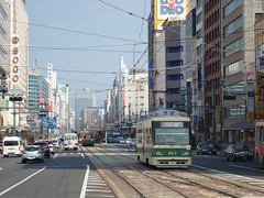 Japan - Hiroshima - City centre (railasia) Tags: japan tram hiroshima